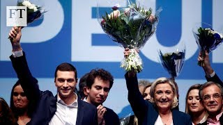 Jordan Bardella: new face of French far right and frontrunner in European elections - FINANCIALTIMESVIDEOS