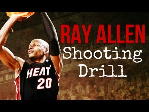 Ray Allen Shooting Drill | 3 Point Shooting Drill | Pro Training