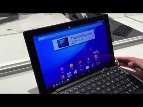 MWC 2015: Sony Xperia Z4 Tablet im Hands-On