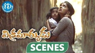 Vikramarkudu Movie Scenes - Ravi Teja Killing Title Climax Scene || Anushka - IDREAMMOVIES