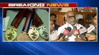 TDP MLC Dokka Manikya Vara Prasad speaks to media over Justice For Jyothi Sureka | CVR NEWS - CVRNEWSOFFICIAL