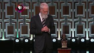 Letterman on receiving Mark Twain Prize: 'I'm trying to impress' my son - WASHINGTONPOST