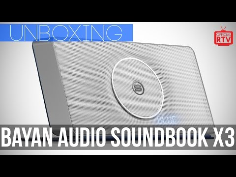 Bayan Audio SoundBook X3 (Unboxing)