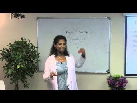 Ayurvedic Lifestyle & Nutrition Course 2015 lecture 42