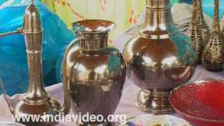 Brass engravings Uttar Pradesh