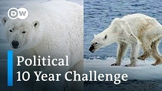 10 Year Challenge turns political | DW News - DEUTSCHEWELLEENGLISH