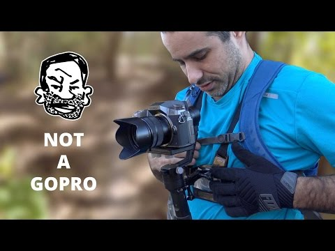 Wearable DSLR with Stabilizer - MTB Trail Session