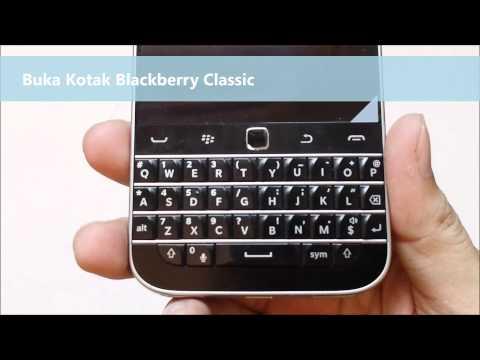 Buka Kotak Blackberry Classic