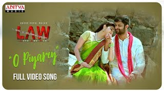 O Piyare Full Video Song | L A W (LOVE AND WAR) Video Songs | Kamal Kamaraju, Mouryani - ADITYAMUSIC