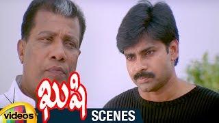 Pawan Kalyan Decent Warning to Rajan P Dev   Kushi Telugu Movie Scenes   Ali   Bhumika  Mango Videos - MANGOVIDEOS