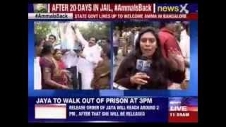 Jayalalithaa release order still being typed at special court - NEWSXLIVE