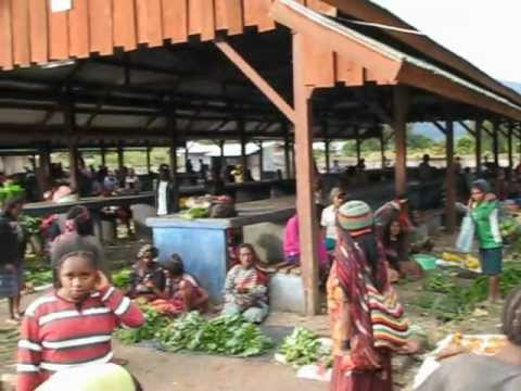 Wamena Market - Baliem Valley, Papua, Indonesia 2012