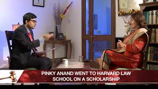 Sr. Advocate Pinky Yadav (ASG) speaks on her book 'Trials of Truth' and her journey to being ASG - NEWSXLIVE
