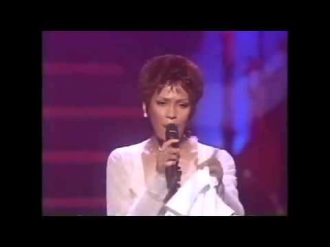 Classic Whitney Houston LIVE   Aretha Franklin Medley