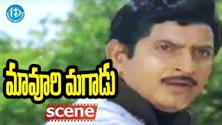 Maavoori Magaadu Movie Scenes - Krishna Saves Murali || Krishna, Sridevi - IDREAMMOVIES