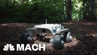 This Martian Rover Is Made For Earth Travel | Mach | NBC News - NBCNEWS