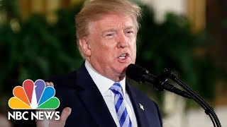 Watch Live: Trump speaks at White House Prison Reform Summit - NBCNEWS