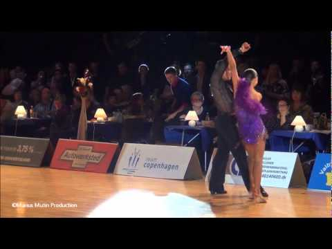 34th Copenhagen Open - GrandSlam Latin - solo Samba - Andrey Zaytsev &amp; Anna Kuzminskaya