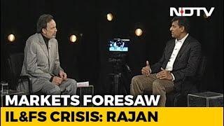 Markets Foresaw IL&FS Crisis: Raghuram Rajan To NDTV - NDTV