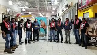 PSPK fans Hungama for Agnyaathavaasi at Toronto - IDLEBRAINLIVE
