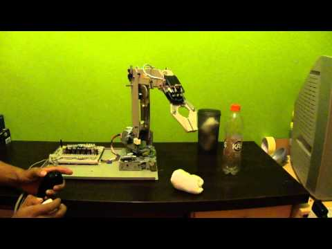 BRAZO ROBOTICO CASERO 1.1