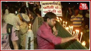 Politics Over Rape? 10-Year-Old Raped In Gazipur Madrasa, BJP Holds Candle March At India Gate - AAJTAKTV