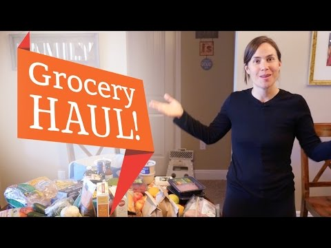 Grocery MEGA Haul + Meal Photos