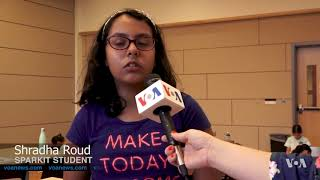 Maryland Summer Camp Encourages Young Girls to Pursue STEM Careers - VOAVIDEO