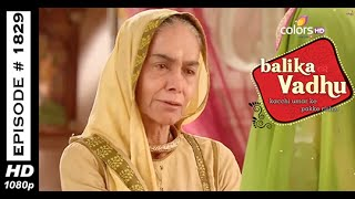 Balika Vadhu : Episode 1823 - 2nd March 2015