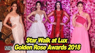 Star Walk at Lux Golden Rose Awards 2018 - IANSLIVE