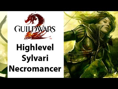 ► Guild Wars - Guild Wars 2 - High Level Sylvari Necromancer Gameplay - Part 1