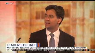 Ed Miliband says he has 'fundamental disagreements' with Nicola Sturgeon - SKYNEWS