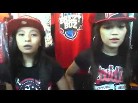 "kejs breezy and april breezy ""ako sayo - (puppy love)"" :) 2011"