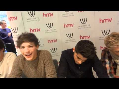 Meeting One Direction - Album Signing