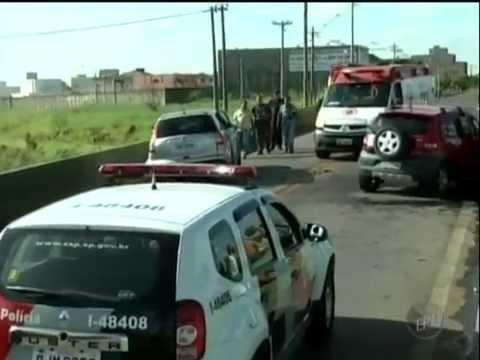 Homem Alcoolizado Causa Acidente Fatal em Hortolândia - EPTV 1ª Edição