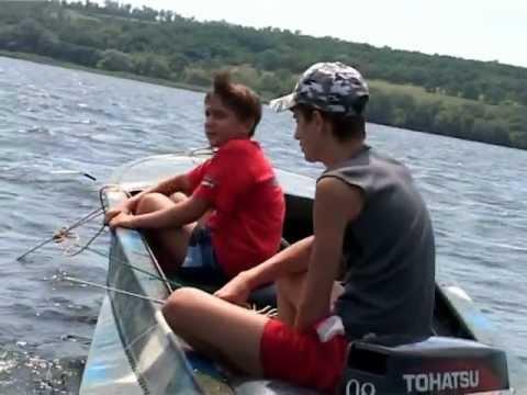 ловля рыбы бортовыми удочками
