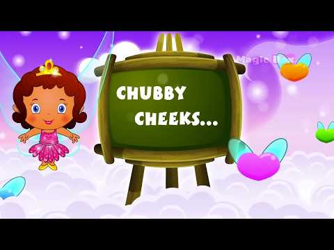 English Nursery Rhymes -  Chubby Cheeks  - Animated/ Cartoon Songs For Kids