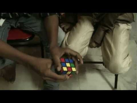 Solving Rubik's Cube Simple by Ravi Teja (13) and Sarat Chandra (8) Part 1 of 2