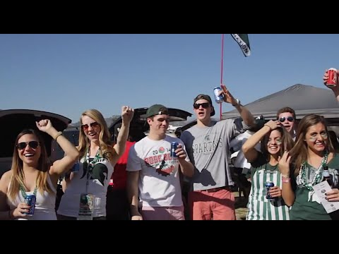 Spartan Tailgate at the 100th Rose Bowl