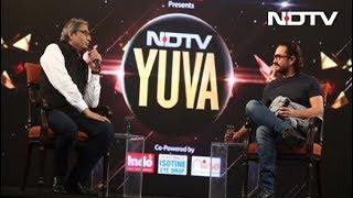 #NDTVYuva - NDTV युवा में बोले आमिर खान, सदियों से इंसान प्रकृति का दोहन कर रहा है - NDTVINDIA