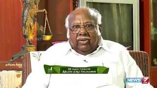 "Paesum Thalaimai 06-09-2015 ""Justice A R Lakshmanan's 23 years of journey in field of law"" – News7 Tamil Show"