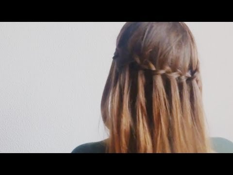 Hair | Cómo hacer Trenza de cascada Fácil y Rápido  / How to do Easy Waterfall braid