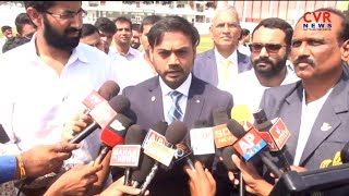 MSK Prasad Inaugurated Cricket Stadium In GITAM University Visakhapatnam l CVR NEWS - CVRNEWSOFFICIAL
