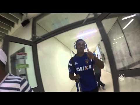 Alguns trechos dos bastidores de Sport x São Paulo