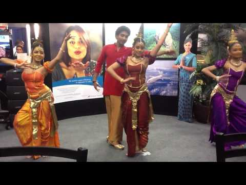Traditional Sri Lankan Dance At Travel Show in NYC