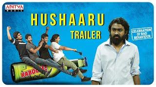 Hushaaru Uncensored Trailer || Sree Harsha Konuganti || Sid Sriram || Radhan - ADITYAMUSIC