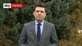 Burnham: UK in 'very perilous waters' over Brexit - SKYNEWS