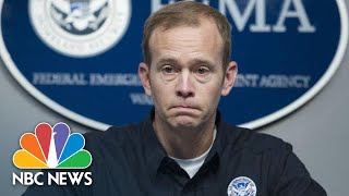FEMA Chief Brock Long Fears 'Hurricane Amnesia' After Michael | NBC News - NBCNEWS