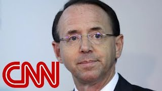 Fate of Rosenstein, Russia investigation unclear - CNN