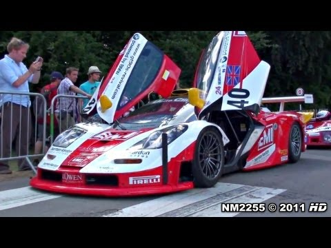 McLaren F1 GTR LOUD SOUND - Start Up &amp; REVS